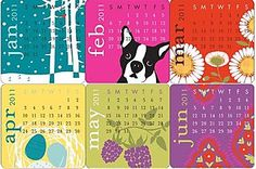 Introducing… our 2011 calendar collection!