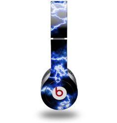 Amazon.com: WraptorSkinz Electrify Skin for Beats Solo HD Headphones, Blue: Electronics