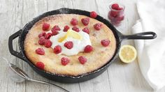 Lemon lovers, this gooey skillet cake will make your dreams come true. What a unique way to bake a cake...give it a try.