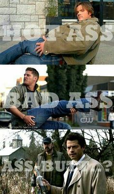 Supernatural - Jensen Ackles - Jared Padalecki - Dean and Sam Winchester - Misha Collins - Castiel