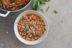 Cranberry Bean (aka Borlotti Bean) Soup Recipe | Pamela Salzman & Recipes