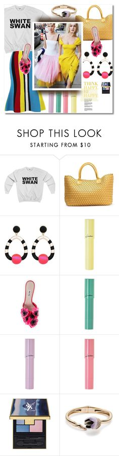 """It's Spring! Think Happy Be Happy"" by watereverysunday ❤ liked on Polyvore featuring Black Swan, Lancôme, Miu Miu, Carolina Herrera and Alexis Bittar"