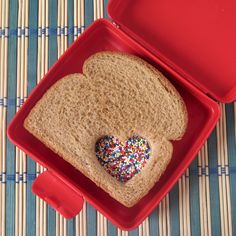 Can do this with our cookie cutters With almond butter and natural sprinkles