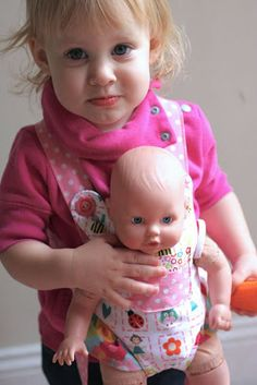 Climbing the Willow: pattern review friday: oliver & s doll carrier