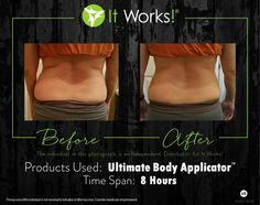 ONE WRAP #Tighten #Tone and #Firm anywhere from the neck down www.bbwrapper.myitworks.com