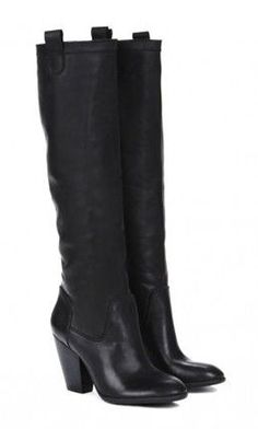 Rumer Tall Leather Boots ♥ Oh, I NEED these. Yes, I said NEED.