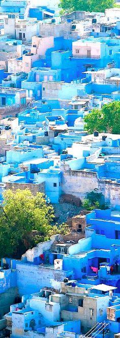 Jodhpur, India the enchanting blue city Jodhpur, New Delhi, Wonderful Places, Beautiful Places, Places To Travel, Places To Visit, Magic Places, Rajasthan India, India India