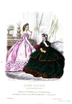 La Mode illustrée: journal de la famille - Google Books 1864 p 390
