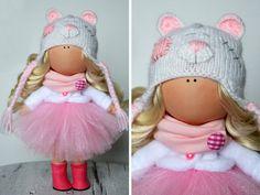 Tilda doll Art doll Rag doll Fabric doll por AnnKirillartPlace