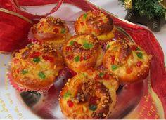 Muffins de los Reyes Magos con Thermomix