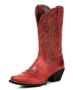 c533008224540 Ariat Saddle Vamp Legend Riding Cowgirl Boots - Square Toe