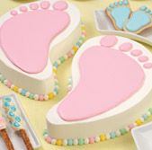 wilton baby shower cakes | precious baby shower ideas baby showers are the ultimate girl party ...