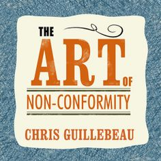 """Chris Guillebeau fans! His """"The Art of Non-Conformity"""" (Set Your Own Rules, Live the Life You Want, and Change the World) was recently published in audio. Sample it here: http://amblingbooks.com/books/view/the_art_of_non-conformity"""
