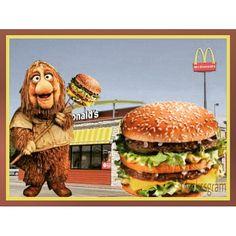 """#bigmac #mcdonalds #hamburguesa #fragglerock #jimhenson #muñeco #comidabasura #ronaldmcdonald  #80s #muppets"" Photo taken by @nackssgram on Instagram, pinned via the InstaPin iOS App! http://www.instapinapp.com (05/21/2015)"