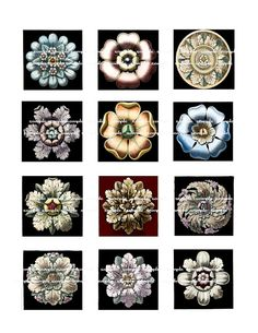Digital Printable collage sheet of charms by VintageLithoArt, $3.25 supplies: http://www.ecrafty.com/c-6-photo-jewelry.aspx
