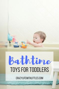 Bathtime Play for Toddlers | Crazy Life with Littles