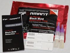 "AdVnt's ""INFORMANT"" Black Mold Detection Test is a highly accurate mold Test for harmful mold spores in your home, school or office."