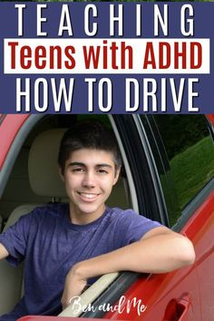 Teaching teens with ADHD to drive takes patience. Begin early and allow your teen to practice with you as often as possible, while minimizing distractions. Get more tips from a mom who understands and has been there. Parenting Books, Parenting Teens, Parenting Advice, Homeschool High School, Homeschool Curriculum, High School Transcript, Driving Teen, Adhd Strategies, Teen Driver