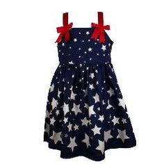 Bonnie Jean Fourth of July Dress