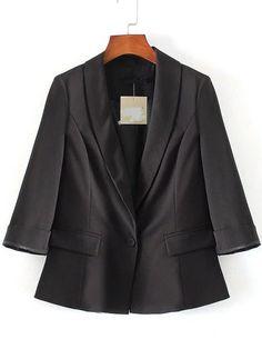 sacos y chaquetas · Resultado de imagen para blazer para mujeres con cuello  esmoquin Aberturas 30def03375e