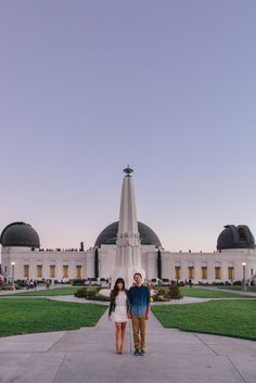 Armina & Elijah's Griffith Park Observatory Astronomy Themed Engagement Shoot | Sweet Little Photographs