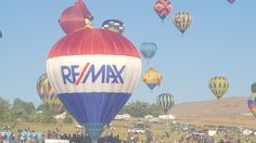 The RE/MAX Balloon at the Grand Reno Balloon Race 2016.