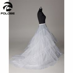 In Stock White Bridal Accessories Wedding Dress Two Hoops Train Style Petticoat/Crinoline/Underskirt