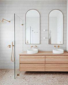 Bathroom Renos, Laundry In Bathroom, Bathroom Renovations, Small Bathroom, Modern Bathroom Tile, Remodel Bathroom, Washroom, Bathroom Ideas, Bathroom Design Inspiration