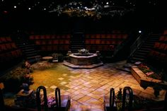 Much Ado About Nothing. Old Globe. Scenic design by Sean Fanning.
