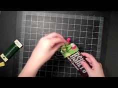 Snowman Hershey Bar Tutorial - YouTube
