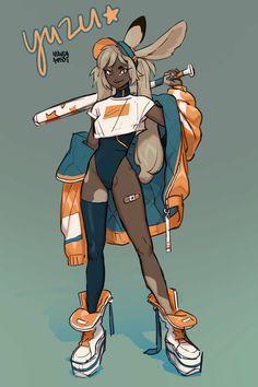 YUZU - Character Design, Manda Schank