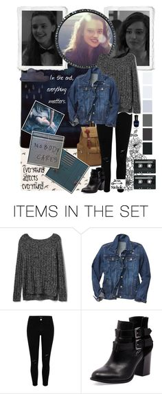 """Hannah Baker"" by jess-nichole ❤ liked on Polyvore featuring art"