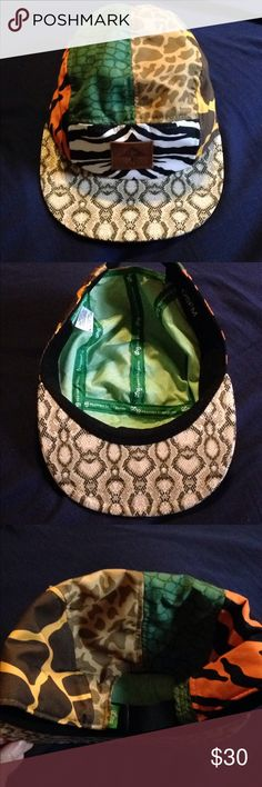 a0ce9f5225f LRG safari panel hat No tags but never worn LRG safari panel hat. Zebra