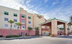 Located beachfront on Pensacola Beach, Florida. #HamptonInn