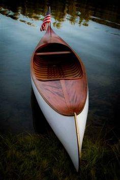 Robertson Courting Canoe