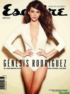Génesis Rodríguez Esquire Mexico Enero 2015 | FamosasMex