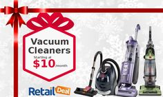 More hygienic cleaning for your healthy home! Get the vacuum cleaners you want from brands you love at RetailDeal with monthly payments #HygienicCleaning #HealthyHome #Vacuumcleaners #MonthlyPayments