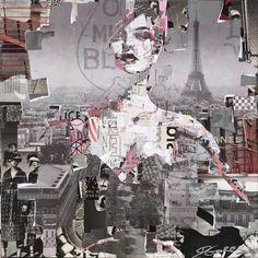 NEW! Full Volume Paris, signed lmtd edition print <i>by Derek Gores</i>