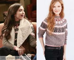 Girl Meets World: Season 2 Episode 25 Riley's Knit Printed Sweater