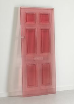 DOORS / sculpture by Rachel Whiteread's // resin cast from antique doors dating back to the 1700s