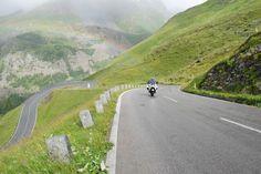 La Strada alpina del Grossglockner in moto