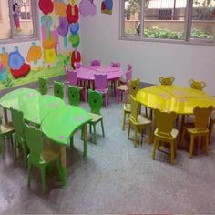 Play School Furniture, Rs 12500 /set, Strawberry Stop Pre Primary School, Pre School, Kids Swing, School Furniture, School Building, All The Colors, Classroom Table