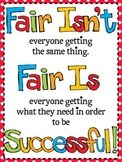 Fair Isn't Always Equal Poster