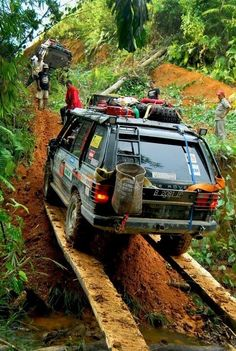Range Rover expedition.