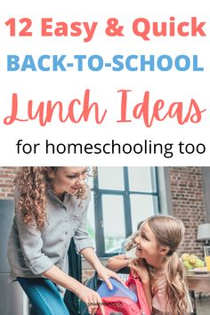 Get ready mama! Whether it's homeschooling, distant learning or going to school here are some quick and easy back-to-school lunches you can whip up! Is it time to go back to school already? It… More Gentle Parenting, Parenting Advice, Kids And Parenting, Back To School Lunch Ideas, Going Back To School, Healthy Snack Options, Conscious Parenting, Cheese Rolling, Lactation Recipes