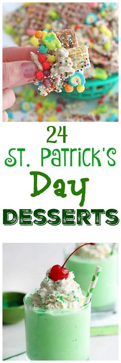 24 St. Patrick's Day Desserts even the Pickiest Leprechauns will love x