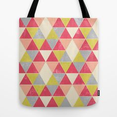 Society6 selected my print 'Tri-Frenzy' to be included in the Society6 Store! Shop online now at www.society6.com/taylerwillcox  Tri-Frenzy Tote Bag by Tayler Willcox - $22.00