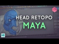 In this Maya modelling tutorial, learn how to retopologize a creature head in Autodesk's Maya, using the quad draw tool. Check out our video on how the retop. Maya Modeling, Modeling Tips, Zbrush Tutorial, 3d Tutorial, Animation Tutorial, 3d Animation, Blender Tutorial, 3d Video, Modeling Techniques
