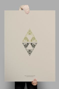 The Legend Of Zelda Posters on Behance                                                                                                                                                                                 More