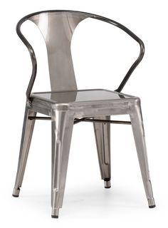 Gunmetal Helix Chair